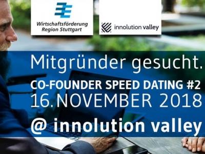Mitgründer gesucht @ innolution valley | das Co-Founder Speed Dating der Wirtschaftsförderung Region Stuttgart