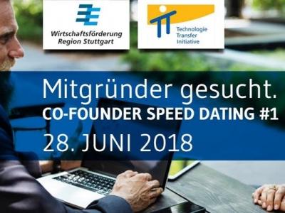Mitgründer gesucht | das Co-Founder Speed Dating der Wirtschaftsförderung Region Stuttgart