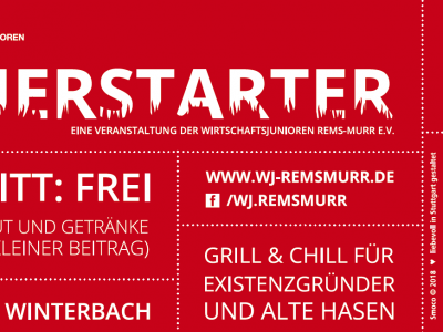 FEUERSTARTER am 18.10.2018 in Winterbach