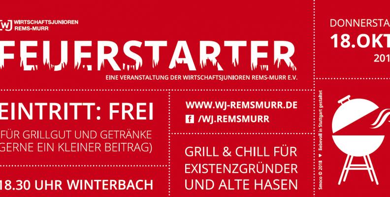 FEUERSTARTER am 18.10.2018 in Winterbach