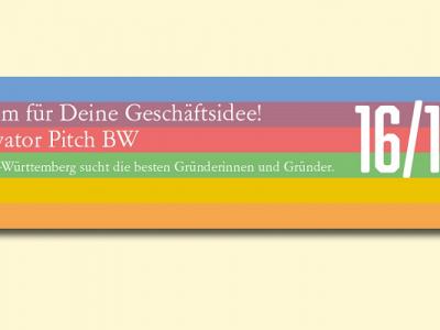 Ministerium engagiert FSBV GmbH als Event-Dienstleister für Elevator Pitch BW