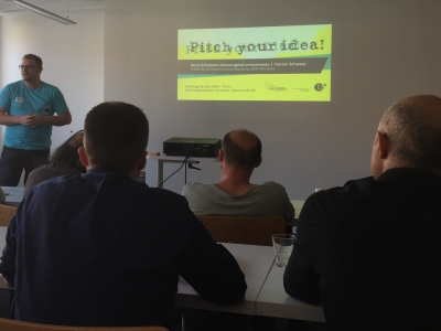 "FSBV unterwegs: ""Pitch your idea"" bei der CyberOne Entrepreneuership Roadshow Konstanz"