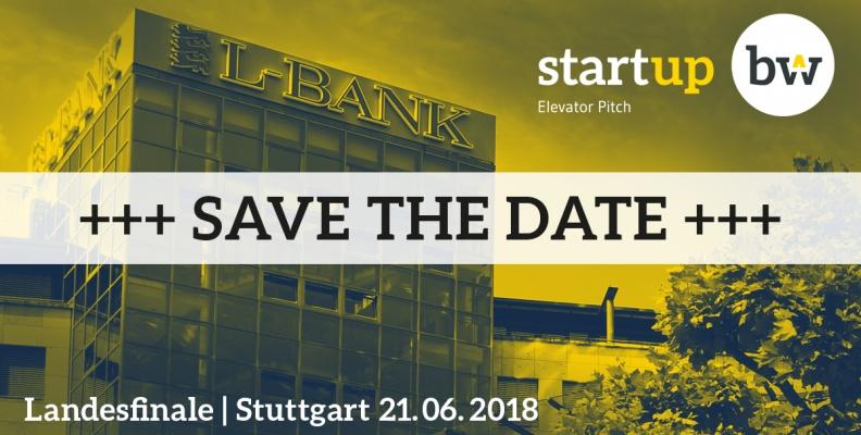 Best of Baden-Württemberg: Landesfinale des Start-up BW Elevator Pitch am 21. Juni – jetzt kostenlose Tickets sichern!